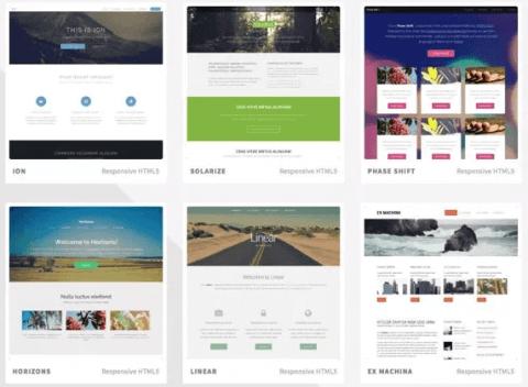 Plantillas responsive en HTML5 y CSS totalmente gratuitas