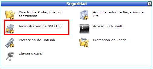 cPanel SSL - 1