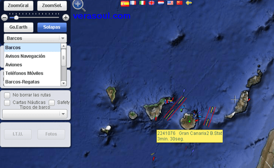 Localizar Barcos tiempo real Localiza todo: aviones, barcos, teléfonos móviles, estaciones, radio aficionados, etc…