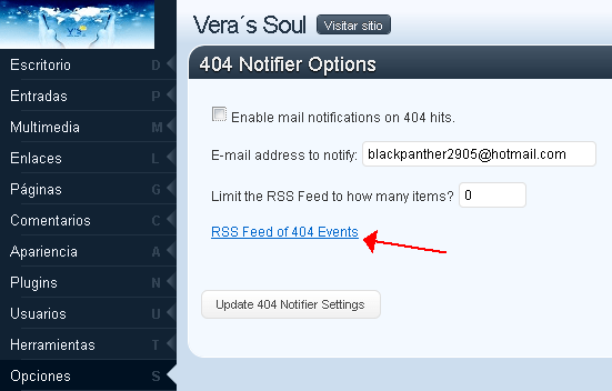 404 Notifier