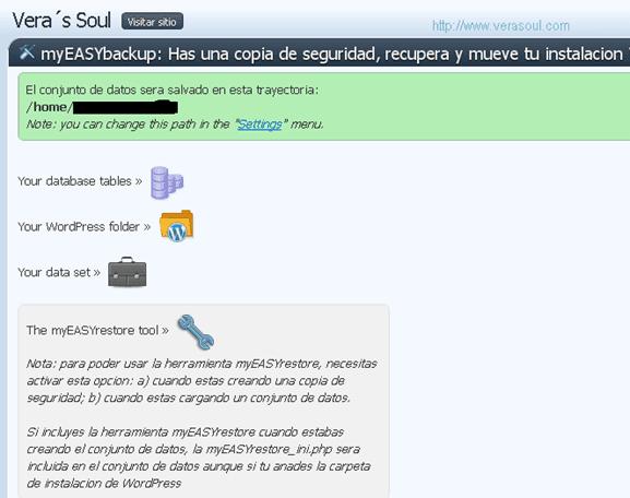 myeasybackup plugin wordpress