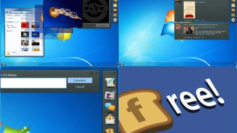 FlipToast: aplicación de escritorio para Facebook